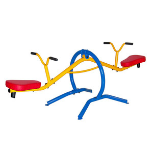 The  Gym Dandy Teeter Totter TT-210 encourages kids to go outside to play