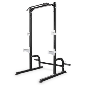 The Marcy Half Cage Rack SM-8117 is essential to build the best home gym