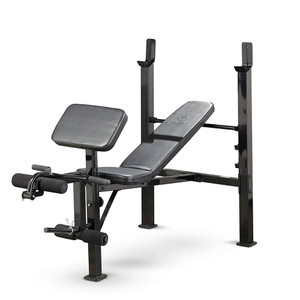 The Marcy Standard Bench | MWB-479 by Marcy adds variety to your workout with incline, decline, and flat positions