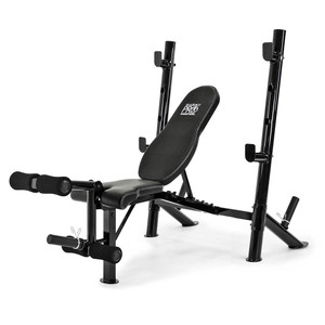 The Marcy Pro Mid Size Bench | PM-767 has a sturdy and durable construction