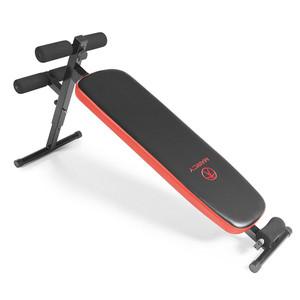 The Marcy SB-4606 Folding Utility Bench w/ Headrest - Slant Board