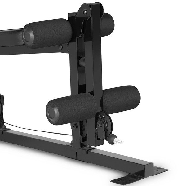 The Marcy 100 lb. Stack Home Gym MKM-81030 has a leg developer for a full body workout