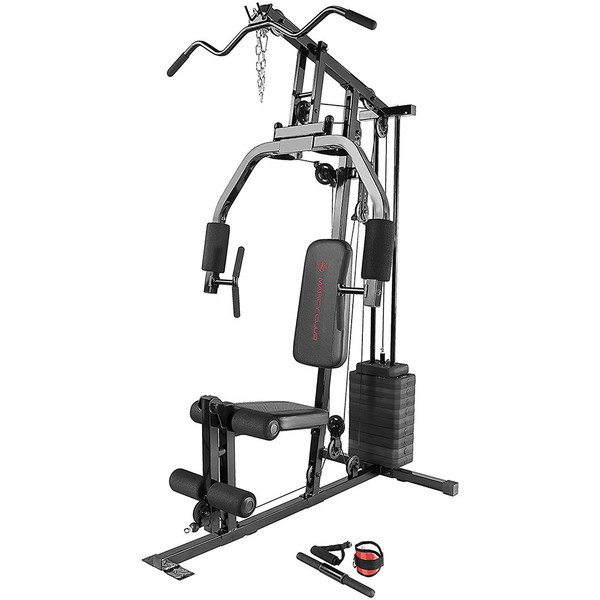The Marcy 100 lb. Stack Home Gym MKM-81030 is essential for creating the best home gym