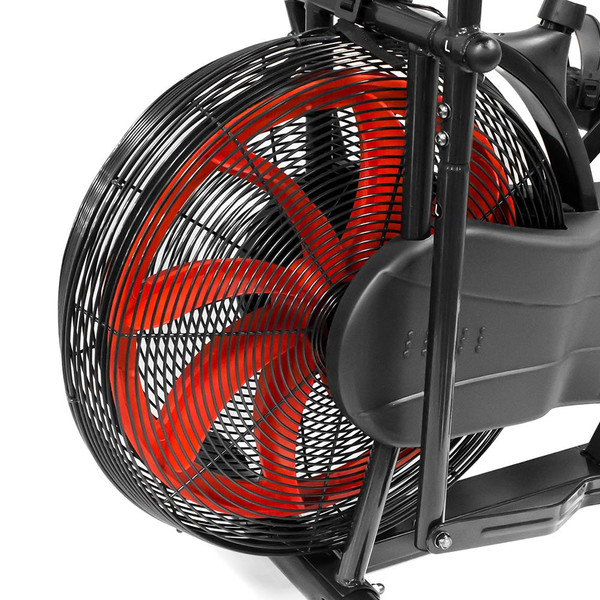 The Marcy Fan Bike NS-1000  uses a large fan to create both a natural feeling of resistance along with cooling your room