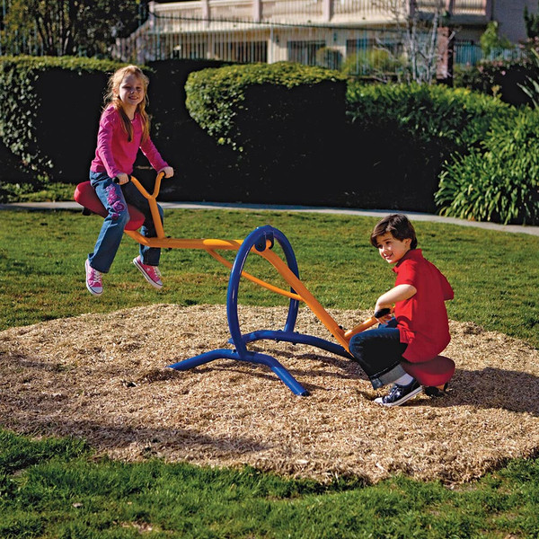 The Gym Dandy Teeter Totter TT-210 in use