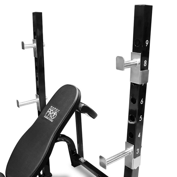 Marcy Pro 2PC Olympic Bench PM842 Quality Strength Products