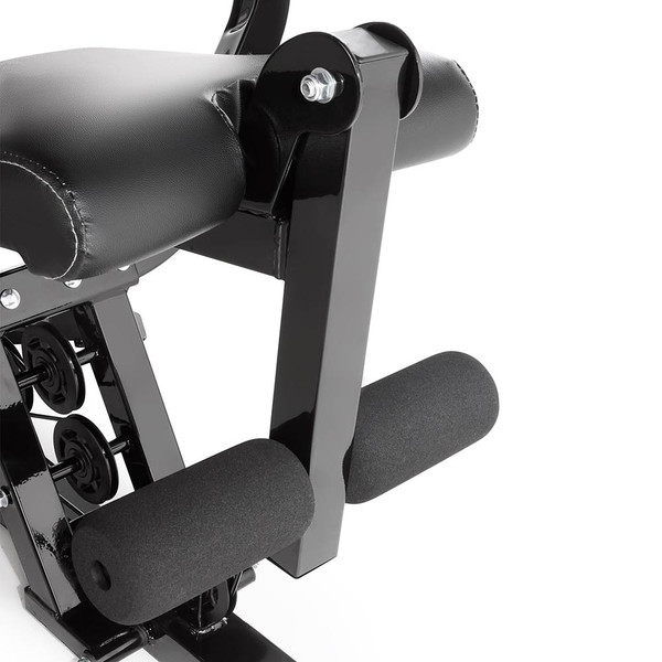 The Marcy Pro Two Station Home Gym PM-4510 includes a leg developer to deliver a full body workout