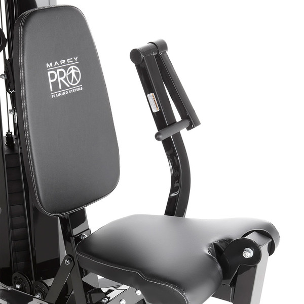 The Marcy Pro Two Station Home Gym PM-4510 includes durable arms for rowing
