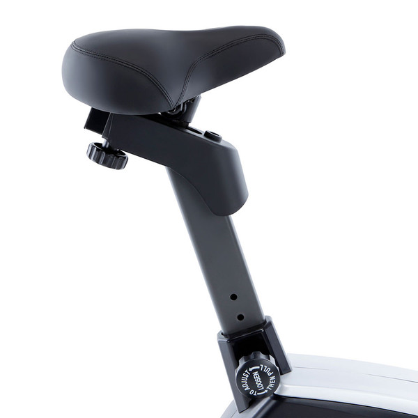 Regenerating Magnetic Upright Exercise Bike Marcy ME-702 with adjustable seat - perfect for any height