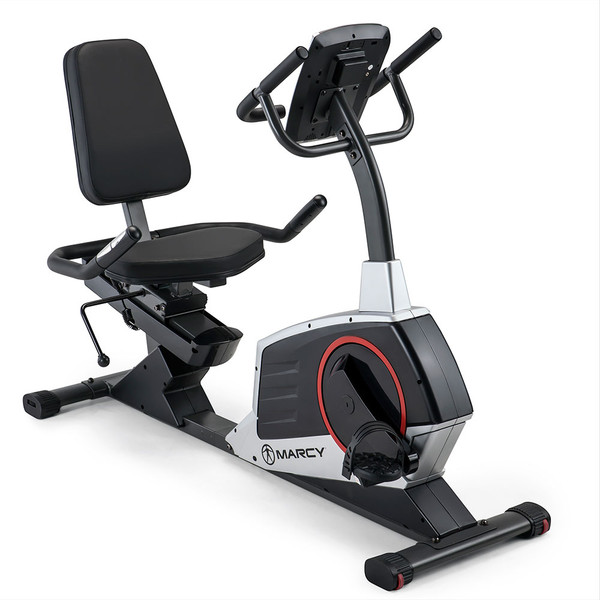 Regenerating Magnetic Recumbent Bike | Marcy ME-706 - the best recumbent bike for a great price