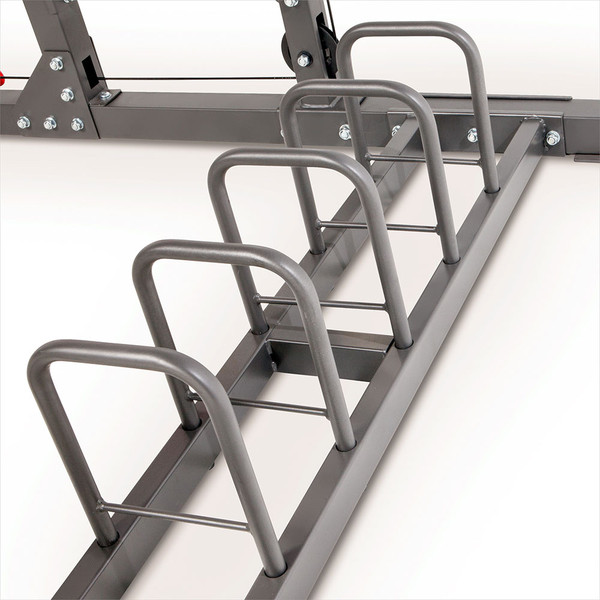 Marcy Pro Smith Cage Home Gym Training System | SM-4903 - rack to store plates