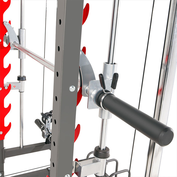 Marcy Pro Smith Cage Home Gym Training System | SM-4903 - safety catches for smith bar