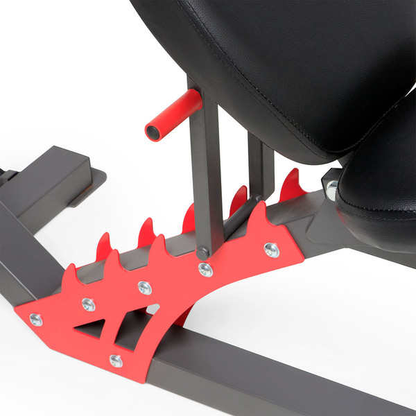 Marcy Pro Smith Cage Home Gym Training System | SM-4903 - Adjustable 6 position seat - Military, flat, incline, decline and more in between