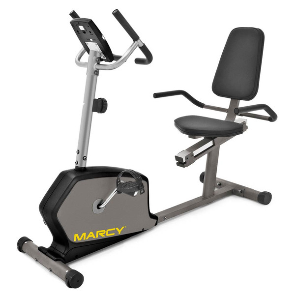 d8b9befa1e4 The Marcy Recumbent Bike NS-1305R is a convenient low-impact method of  getting