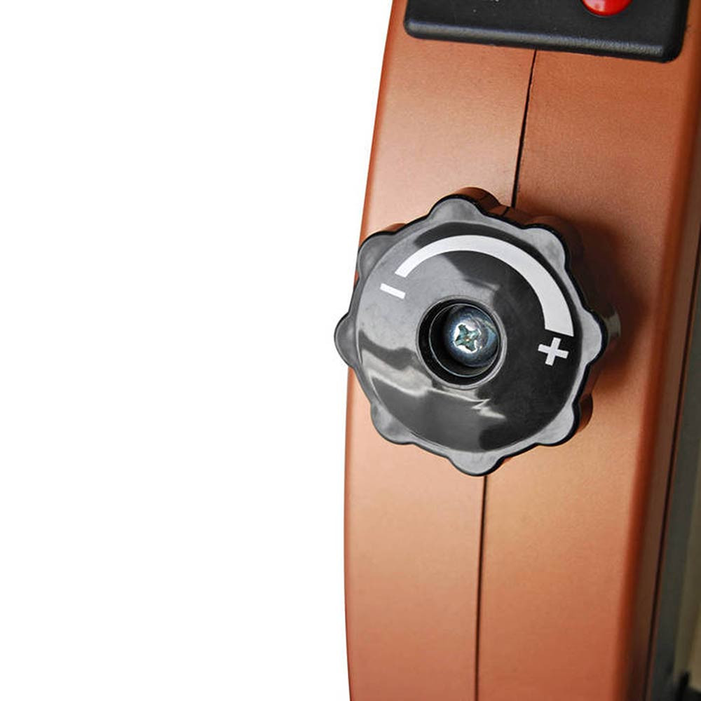 Add resistance to the Cardio Mini-Cycle NS-909 by Marcy by simply adjusting a knob