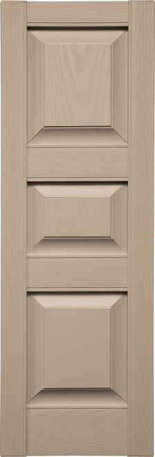 Custom Panel (P5) Three Panels, Small Center (023) Wicker