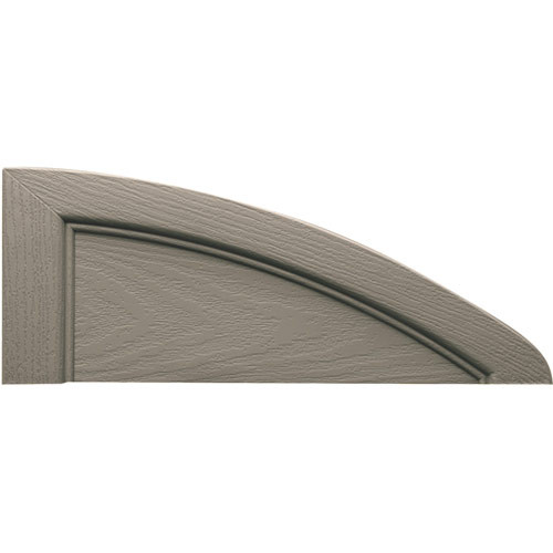 Elliptical Vinyl Shutter Top