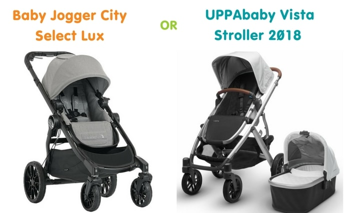 Out for a Stroll: UPPABaby Vista 2018 vs Baby Jogger City Select