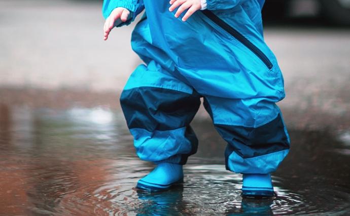 Muddy Buddy Rain Suit vs. Calikids Waterproof Splash Suit