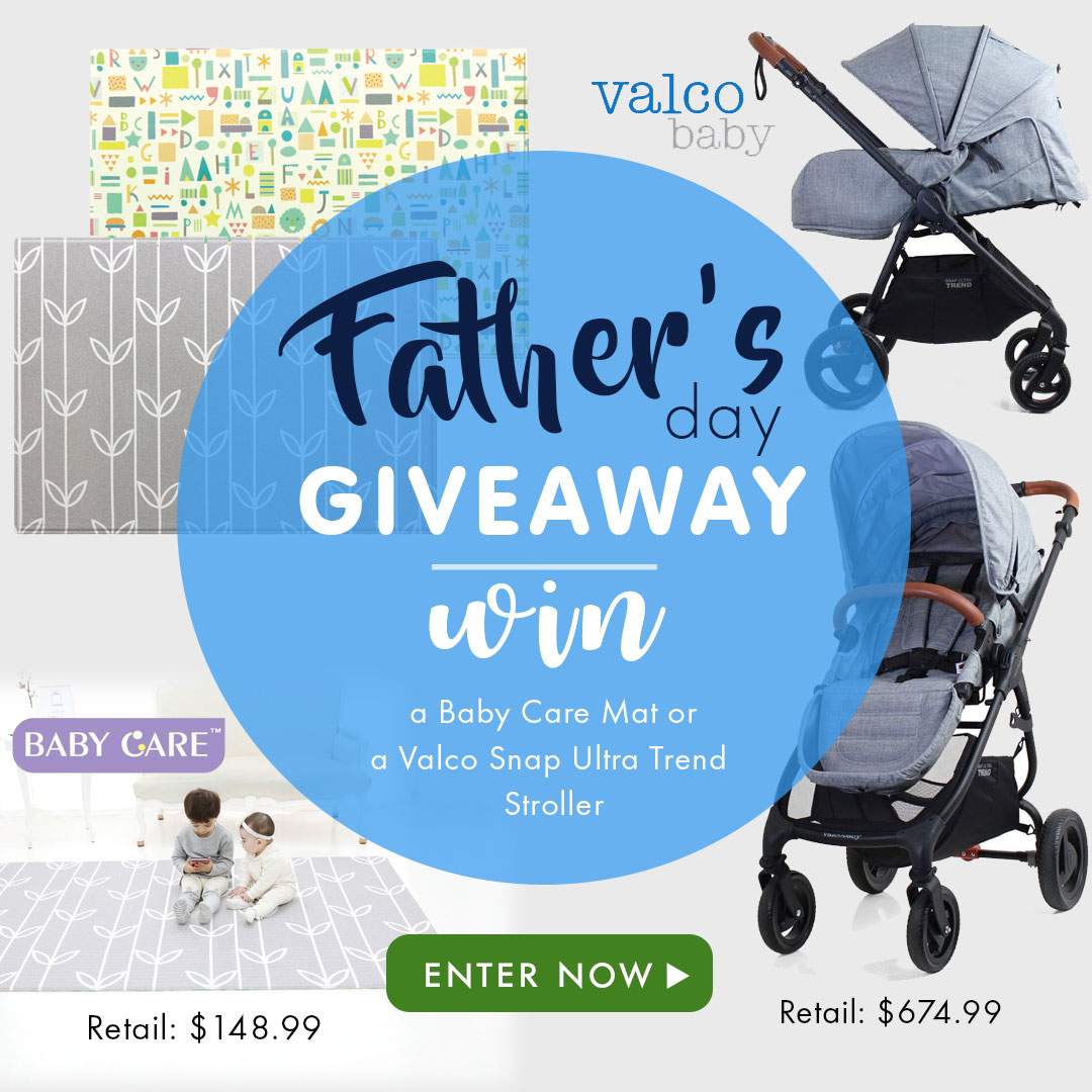 Giveaway: Active Baby Father's Day Giveaway
