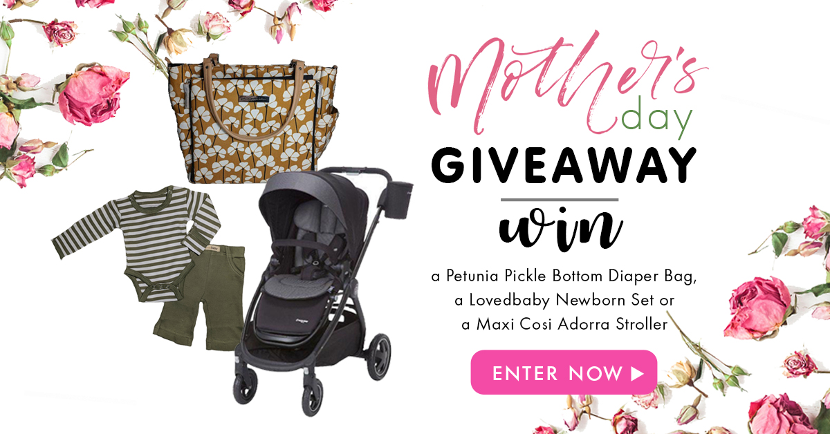 GIVEAWAY: Active Baby Mother's Day Giveaway