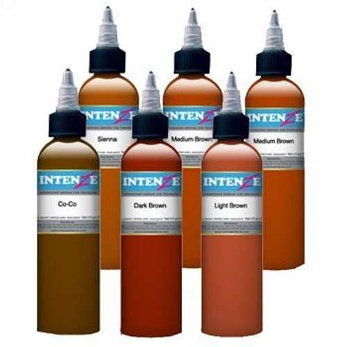 Intenze Ink - Brown Tattoo Inks