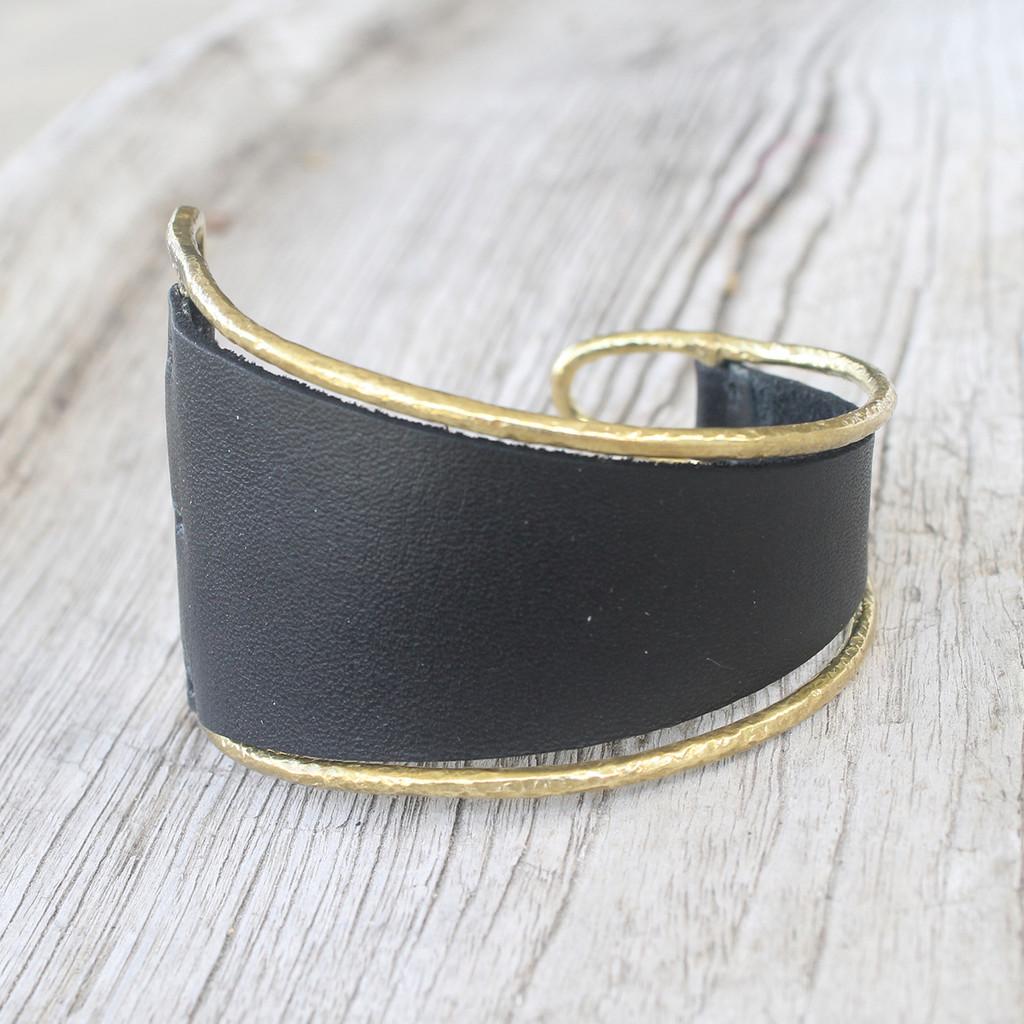 Brass/ Black