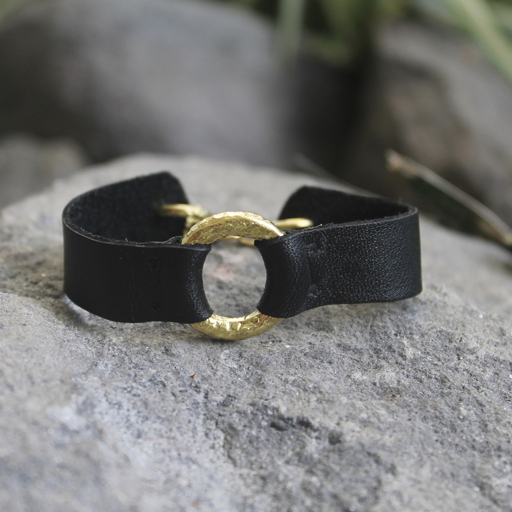 Brass with Black