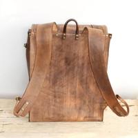 Mocha one of a kind backpack SS