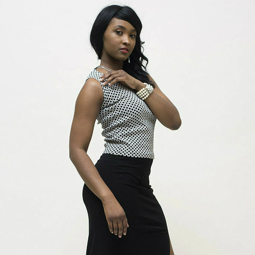 Beautiful elegance when matched with long pencil skirt.