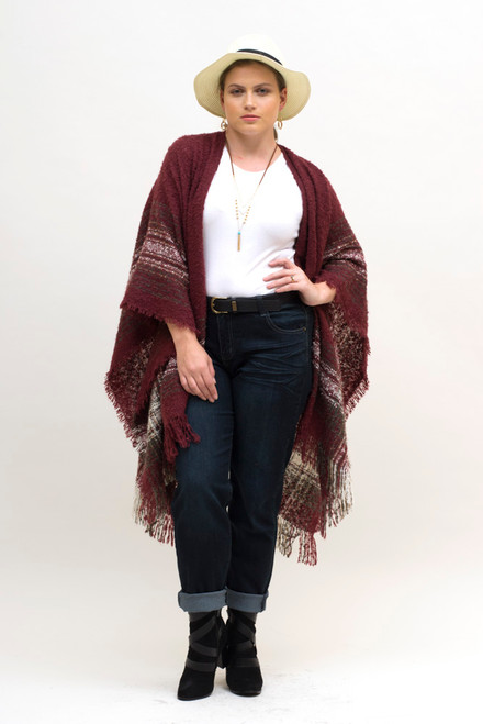 Jeans With Poncho