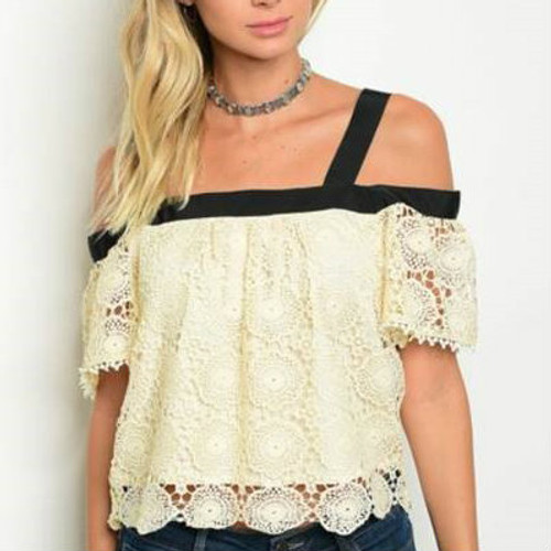 Blush Cream Top