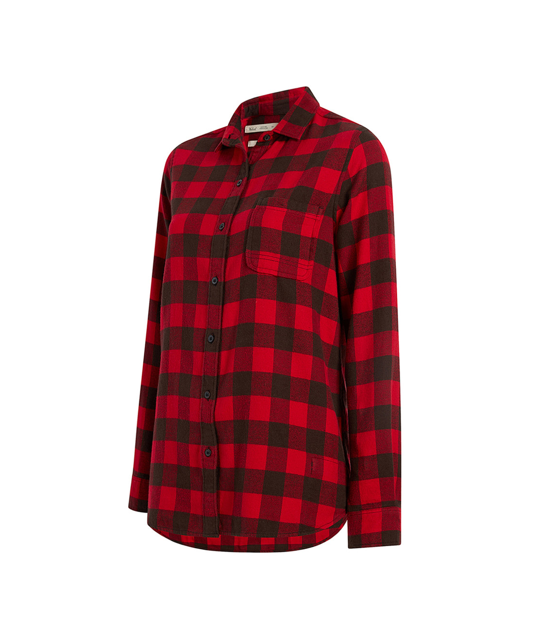 Women's Pemberton Boyfriend Tunic Flannel Shirt - 100% Cotton (2211)