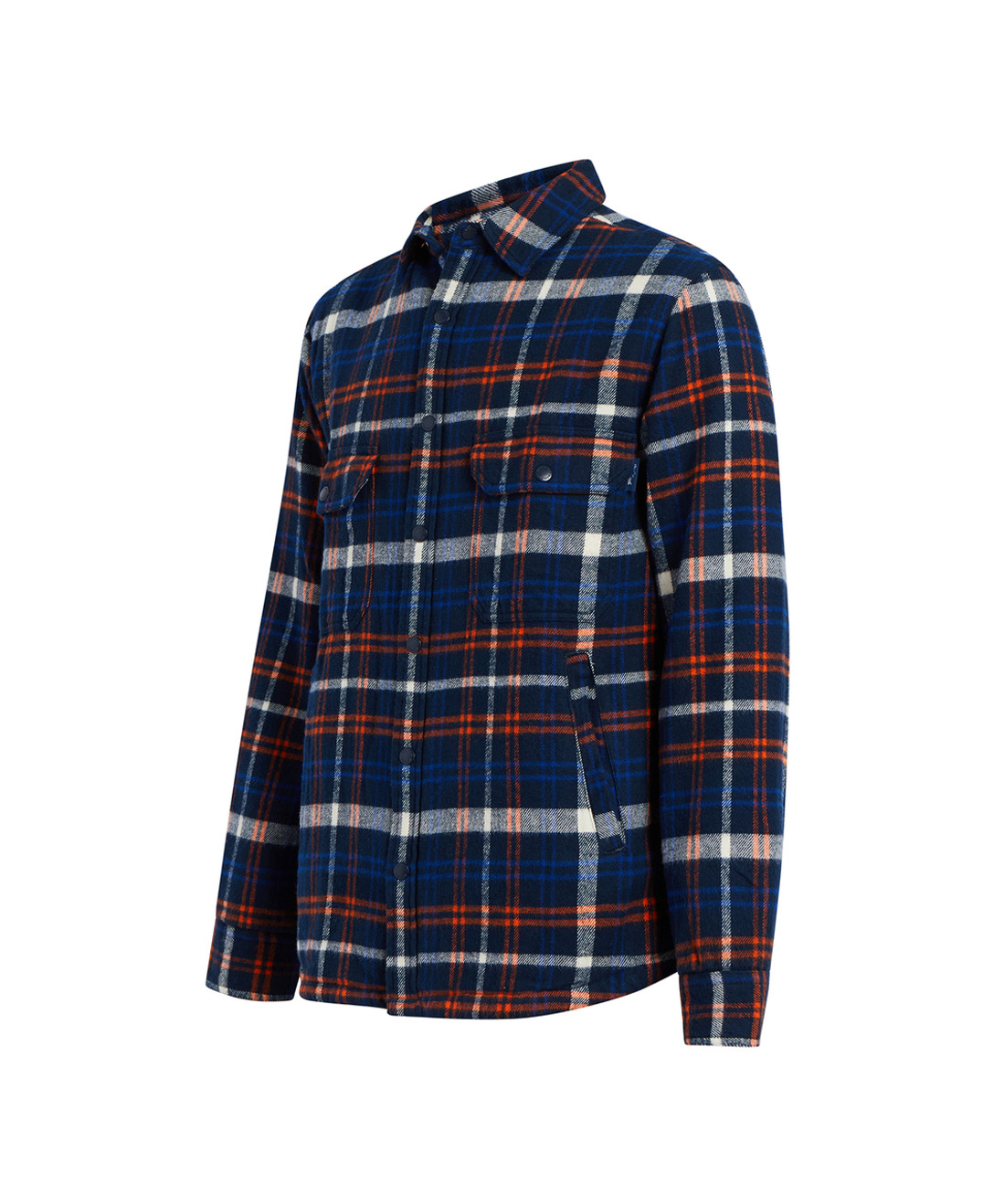 Men's Oxbow Bend Plaid Flannel Insulated Shirt Jac