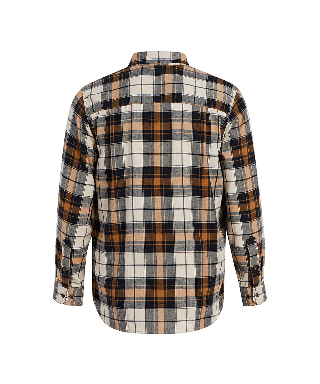 Men's Stone Rapids Plaid Flannel Shirt - 100% Organic Cotton