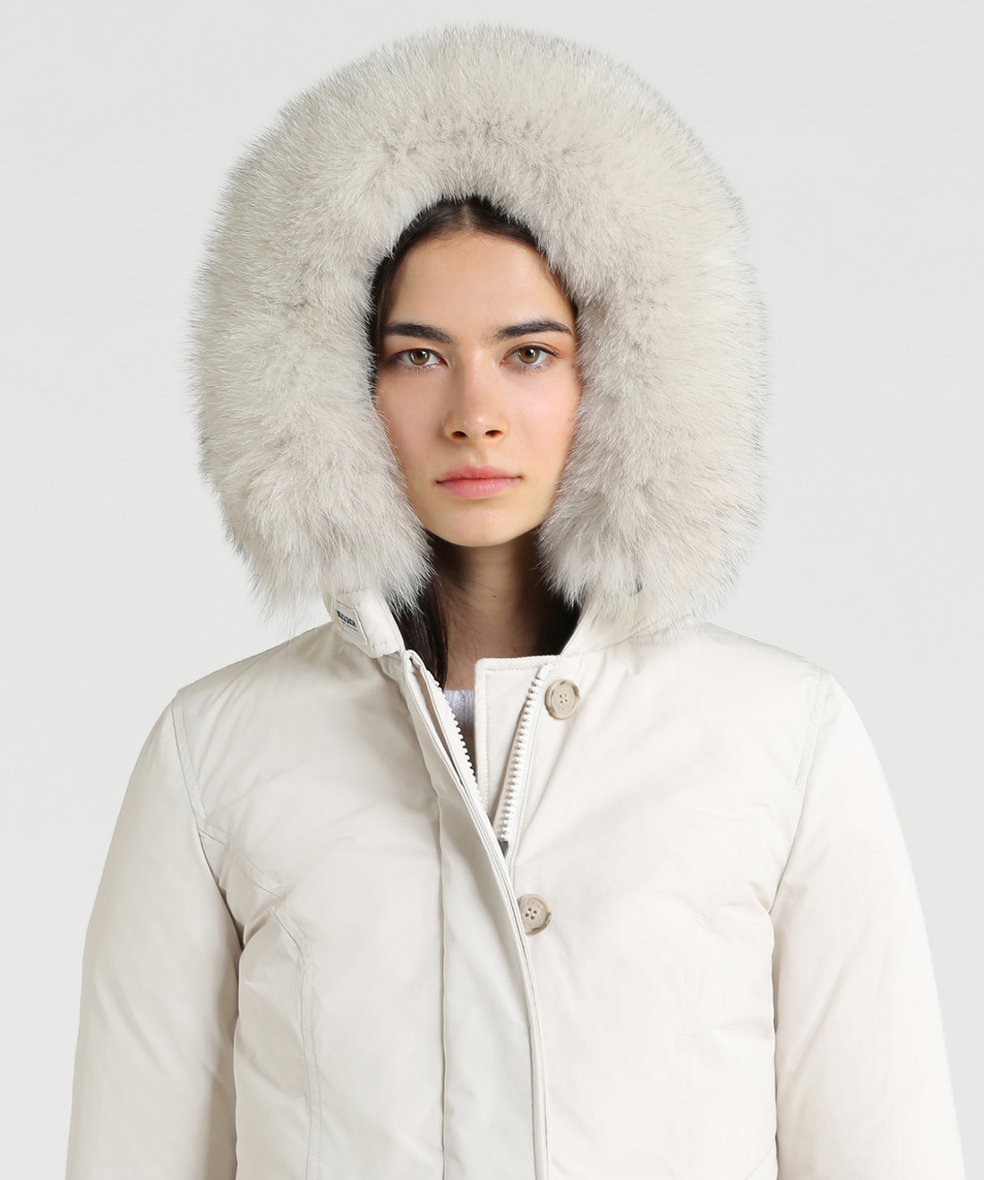 Women's Luxury Arctic Down Parka Fox - John Rich & Bros.