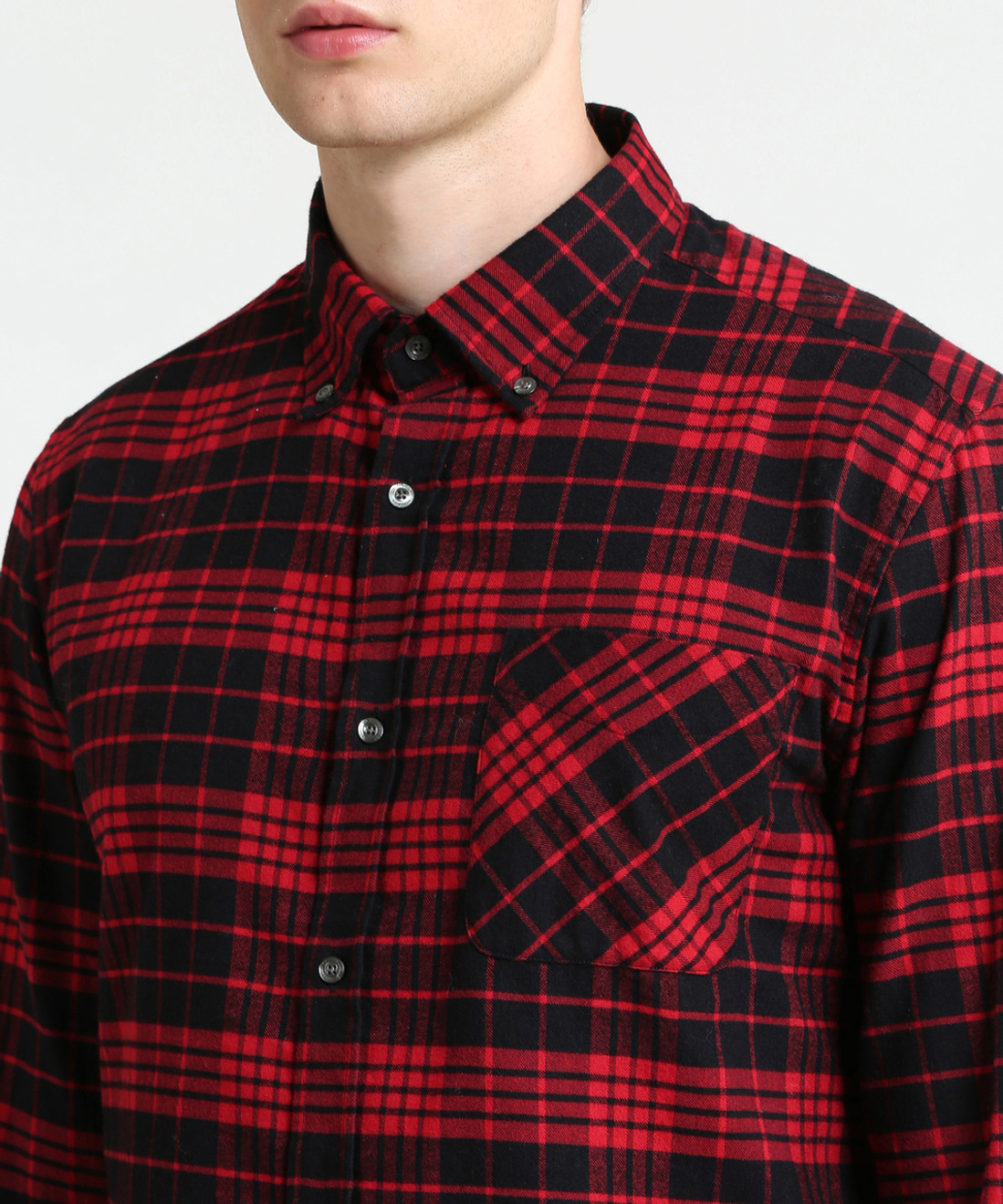 Men's Heritage Check Flannel Shirt - John Rich & Bros.