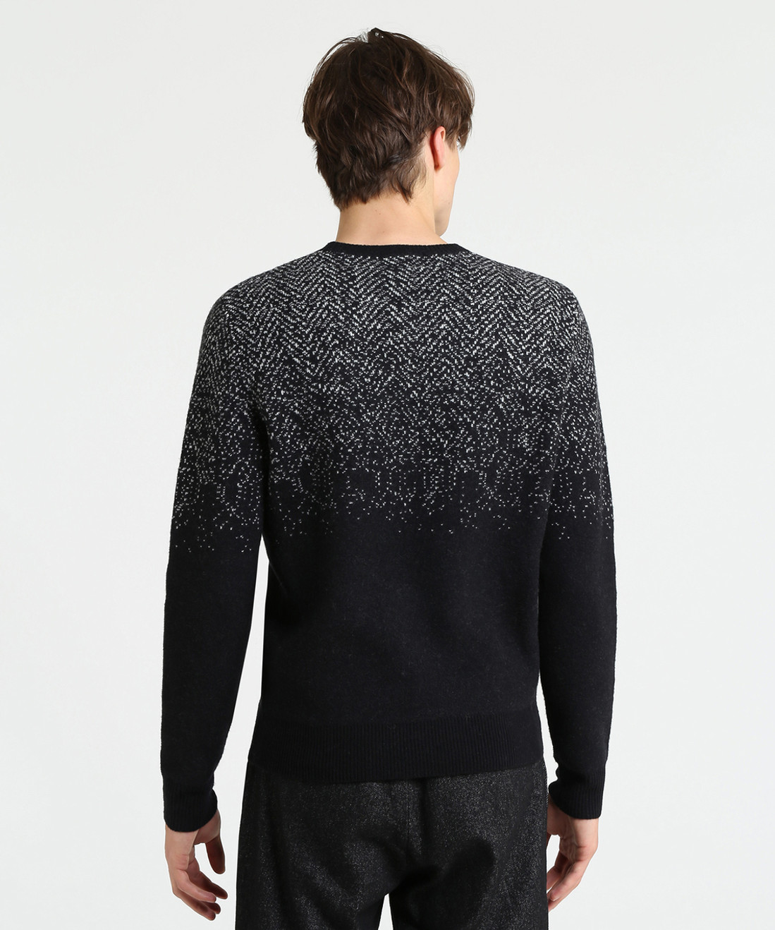 Men's Herringbone Sweater - John Rich & Bros.