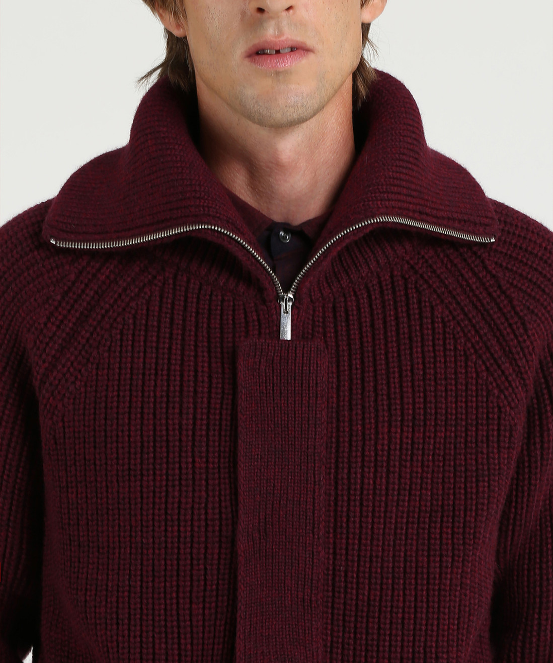 Men's Carded Wool Cardigan Sweater - Iconic Pack