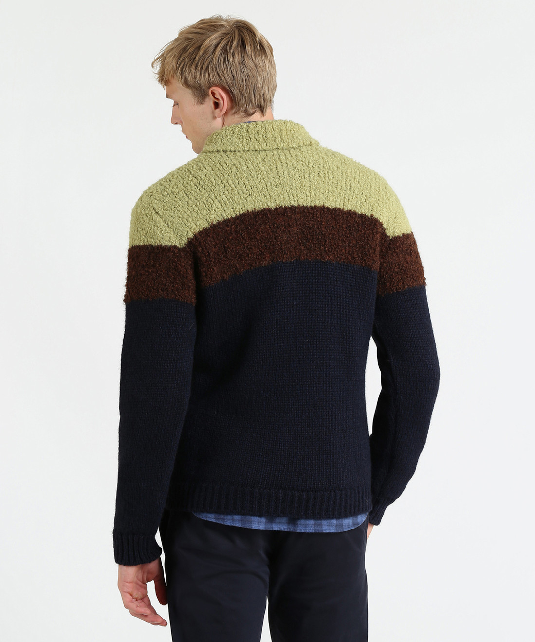 Men's Boucle' Wool Alpaca Sweater - Iconic Pack