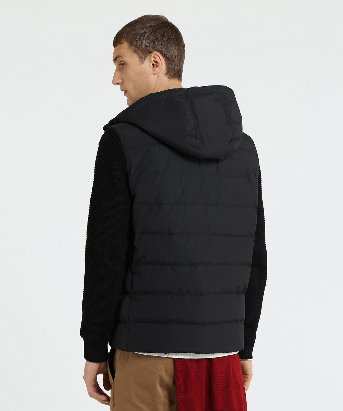 Men's Plum Run Hooded Down Jacket - John Rich & Bros.