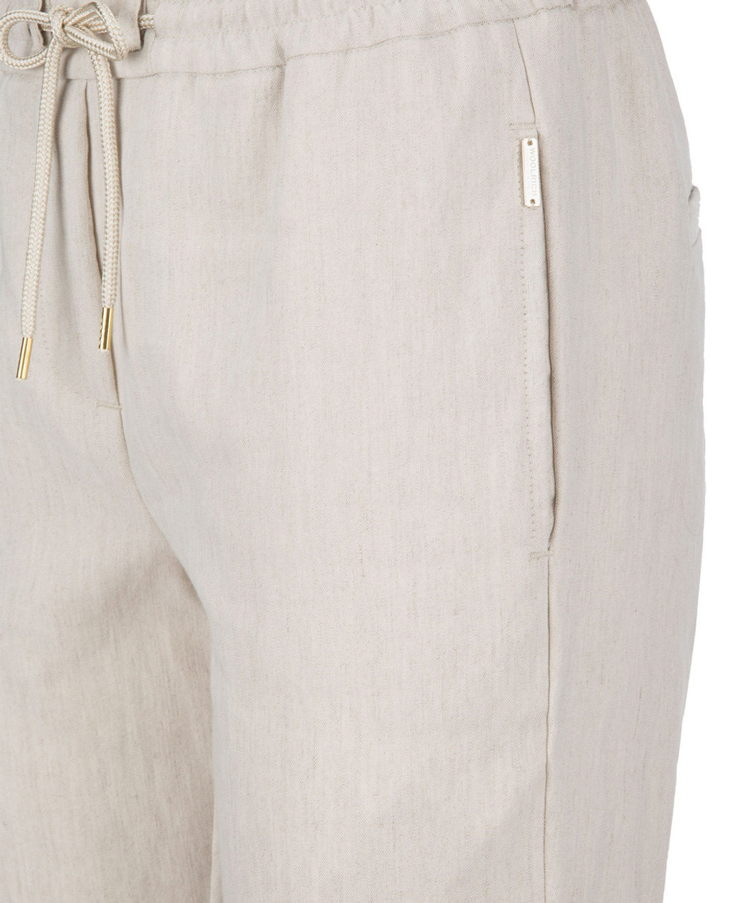 Women's Linen Cuffed Pants - John Rich & Bros.
