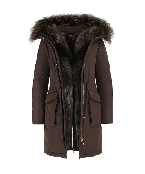 Women's Military Parka Fox - John Rich & Bros.