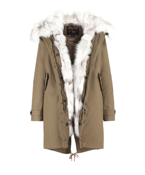 Women's Literary Fox Parka - John Rich & Bros.