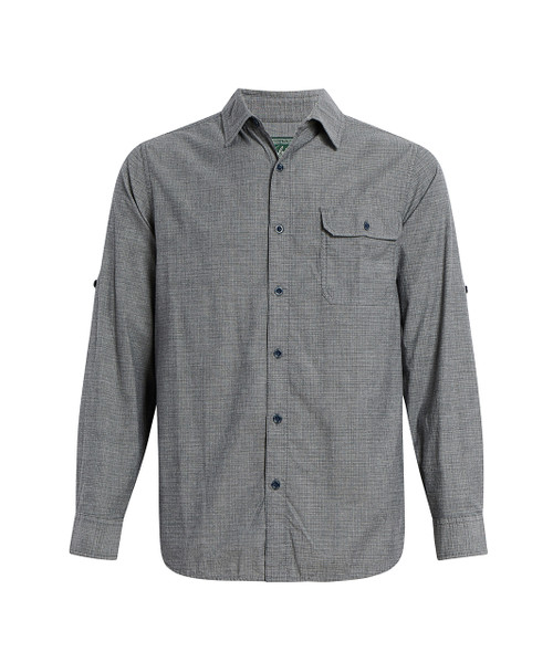 Men's Midway Convertible Sleeve Ripstop Shirt - 97% Organic Cotton