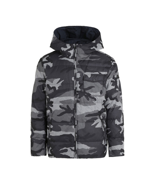 Men's Reversible Camo Jacket - John Rich & Bros.