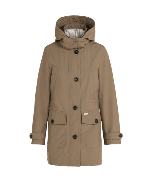 Women's Arctic 3 in 1 Down Parka High Collar No Fur - John Rich & Bros.
