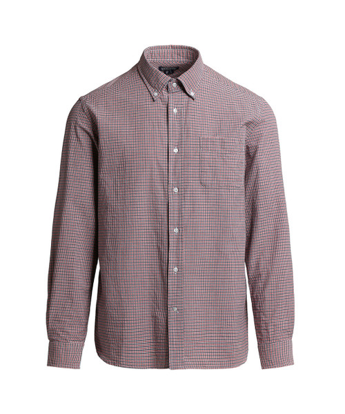 Men's Indigo Check Shirt - John Rich & Bros.