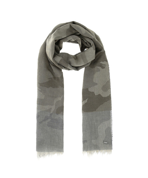 Men's Extra Long & Wide Camouflage Scarf - John Rich & Bros.