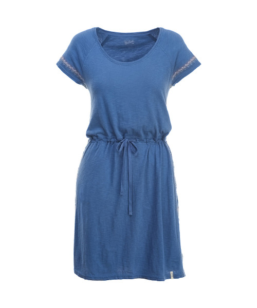 Women's Bell Canyon Embroidered Dress - 100% Organic Cotton Jersey